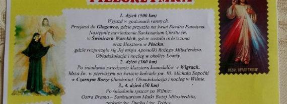 Lipcowa Pielgrzymka z FZŚ