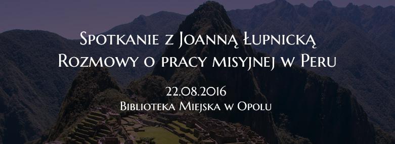 Spotkanie z Joanną Łupnicką