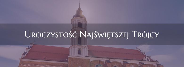 27 maja w przyszłą niedziele odpust