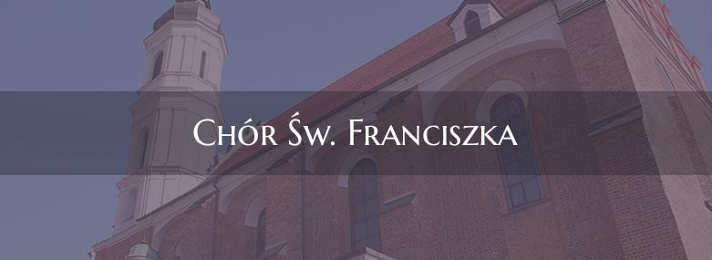 Próby chóry św. Franciszka