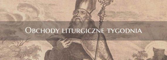 Obchody liturgiczne 7.12