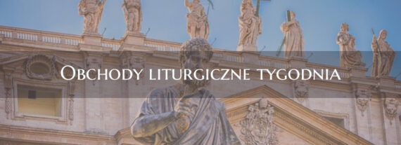 Obchody liturgiczne tygodnia