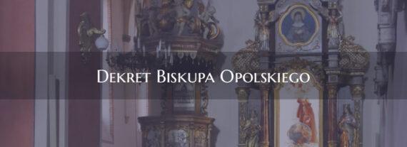 Dekret Biskupa Opolskiego