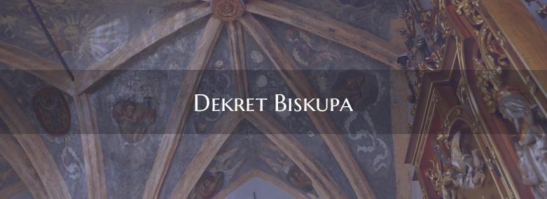 Dekret Biskupa