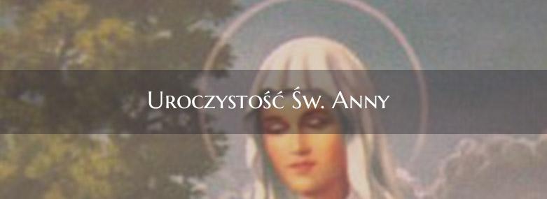 Uroczystość św. Anny