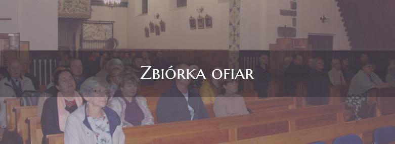 Zbiórka ofiar na działalność misyjną 13-09